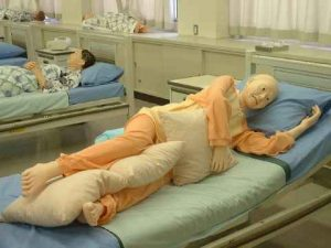 側臥位の安楽な体位